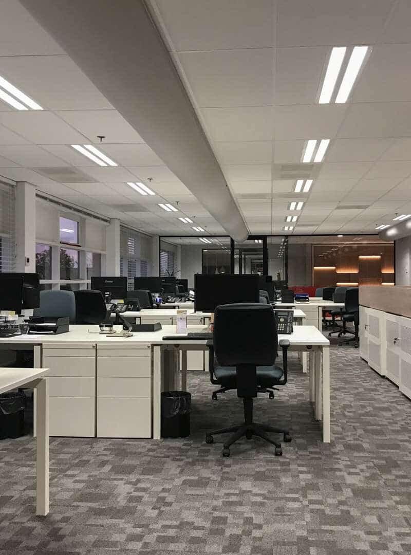 Verbouwing en inrichting kantoor Kivo